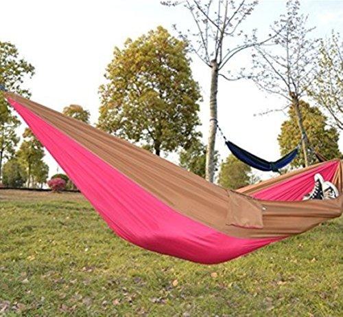 Kansoon Double Parachute Camping Hammock, Ultra...