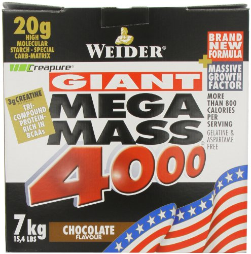 Weider Nutrition Mega Mass 4000 Chocolate 7000g