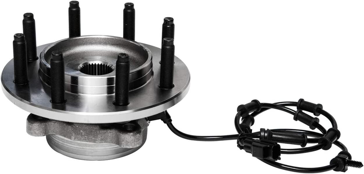 TUCAREST 515061 Front Wheel Bearing and Hub Assembly Compatible With 2003 2004 2005 Dodge Ram 2500 Ram 3500 4WD 4X4 Only;8 Lug W//ABS