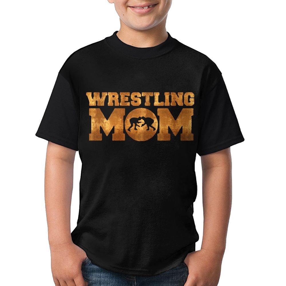 HUDS VIFV Wrestling Mom Unisex Crew Neck Short Sleeve T-Shirts Tees