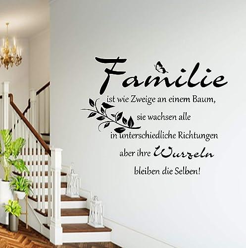 Wandtattoos Wandbilder Wandtattoo Familie Baum Spruch Wohnzimmer Wandaufkleber Kuche Flur Deko Spruch Mobel Wohnen Blog Vr Com Br