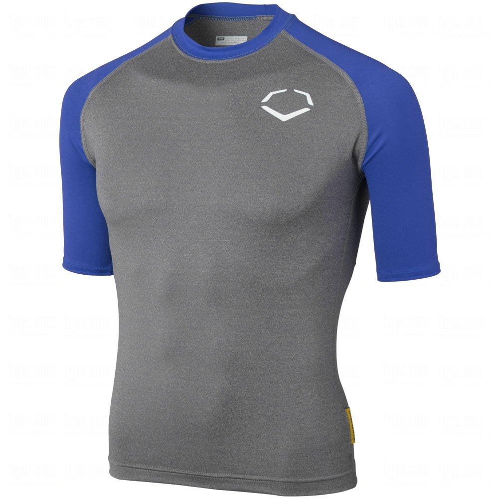 Evoshield Youth 3 / 4スリーブシャツ B00JX1YML0 Medium|Royal Blue Royal Blue Medium