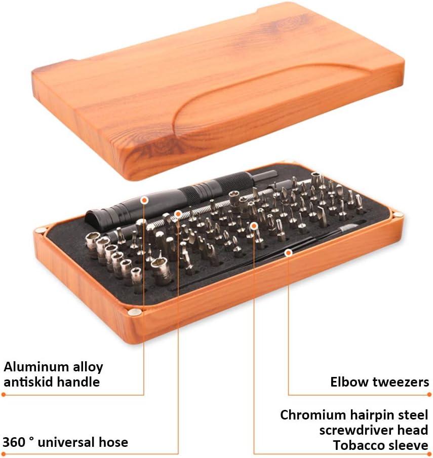 Pena 66 Bit Screwdriver Set 69 in 1 Repair Tool Kit for Furniture//Car//Computer//Electronics Maintenance
