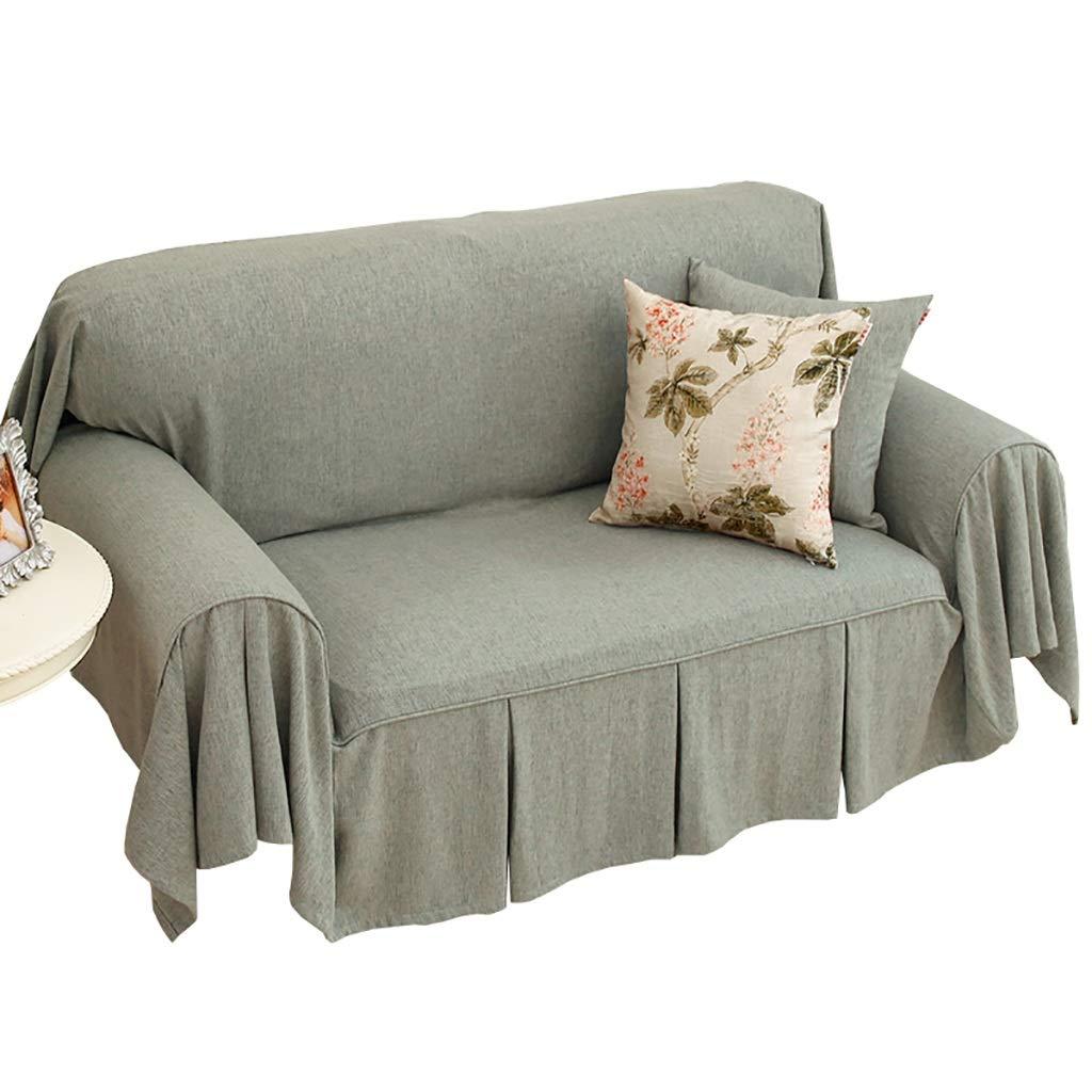 ソファカバー ソファータオル四季一般的な味方されたソファー毛布シングルまたはダブルソファーカバーに適した防塵ソファー布 (色 : B, サイズ さいず : 180x300cm) 180x300cm B B07PT3ZCCR