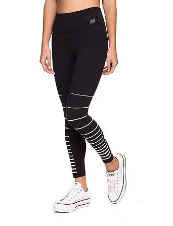 a2c3a45e7b25b New Balance Women's Printed High-Rise Transform Crop Pants 2.0 Black ...