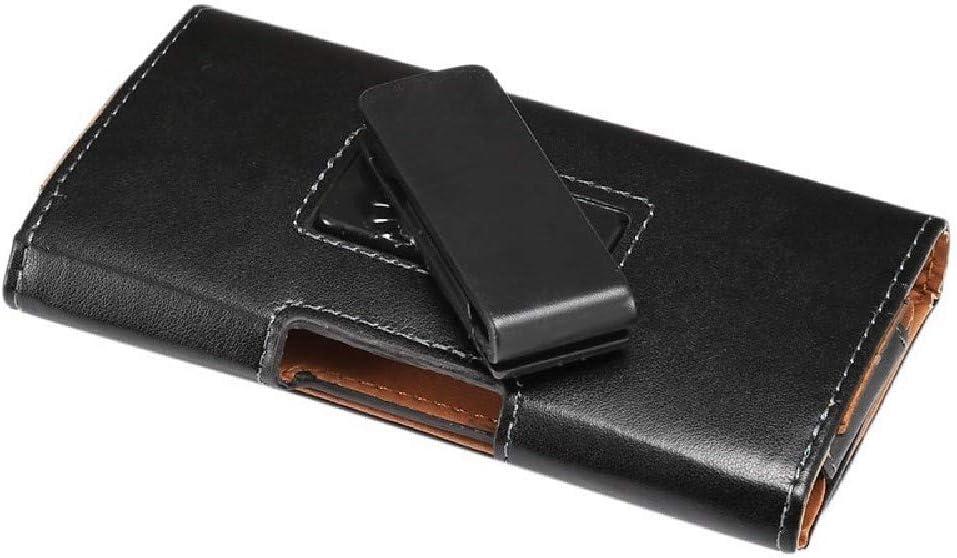 DFV mobile - Funda Cinturon Ejecutivo con Clip Giratorio 360º y Piel Sintetica para XIAOMI MI8 Lite (2018) - Negra