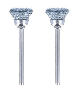 "DREMEL MFG CO 442-02 1/2"", Carbon Steel Brushes"