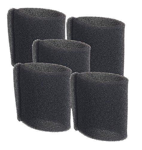 Sichler Haushaltsgeräte Filter für Nass- und Trockensauger BLS-115 und BLS-130, 5er-Pack