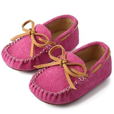 katliu Mocasines Niño y Niña Zapatos Cuero de Gamuza Bebe para Primavera Verano: Amazon.es: Zapatos y complementos