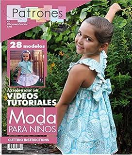 Revista patrones de costura infantil, nº 1. Moda Primavera-verano, 28 modelos
