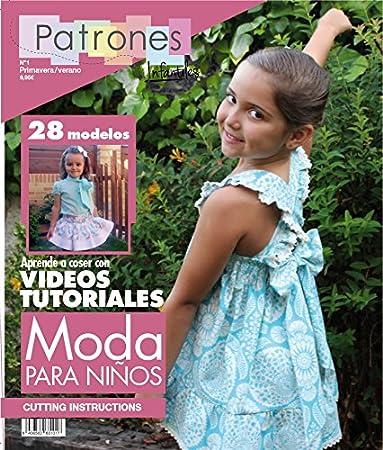e7a16e7eab Revista patrones de costura infantil