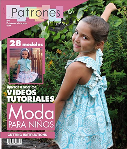 07c419252 Revista patrones de costura infantil