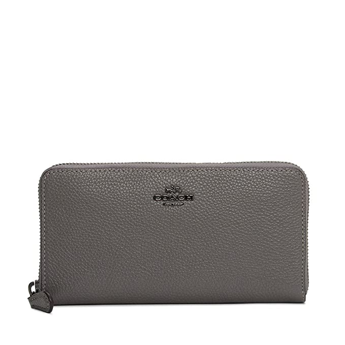 Coach billetera mujer heather grey: Amazon.es: Ropa y accesorios