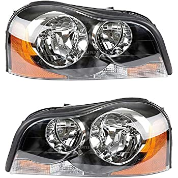 pair brand new premium quality left & right headlight assembly for volvo  xc90 - buyautoparts 16