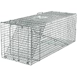 Havahart 1081 Live Animal Professional Style One-Door Large Raccoon, Small Dogs, and Fox Cage Trap
