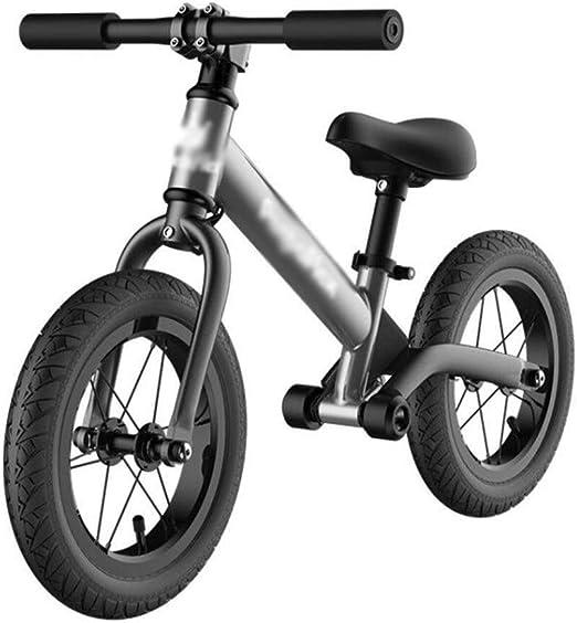 LPYMX Bicicletas sin Pedales para niños Bicicleta de Equilibrio ...