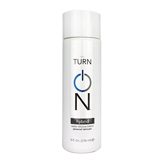 Turn On Premium Hybrid Silicone-Based Personal Lubricant