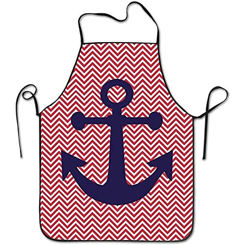 Mydufish Apron Anchor Save-All Intended Adult Kitchen Apron One Size Shrinkage Towel