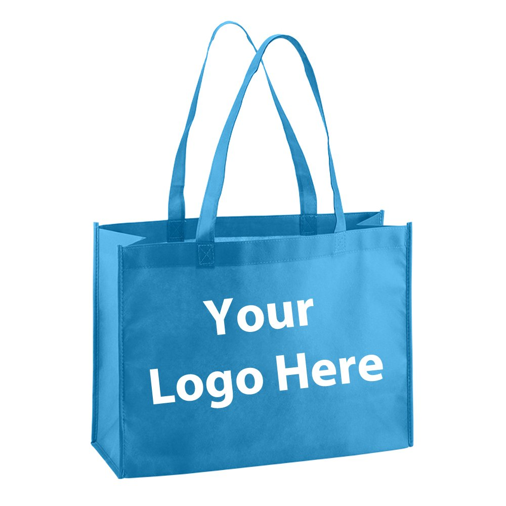 Standard Tote - 150 Quantity - $2.10 Each - PROMOTIONAL PRODUCT / BULK / BRANDED with YOUR LOGO / CUSTOMIZED