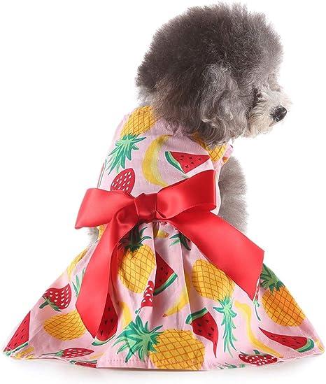 Gusspower-ropa mascotas, Vintage Vestido de Princesa Bowknot ...