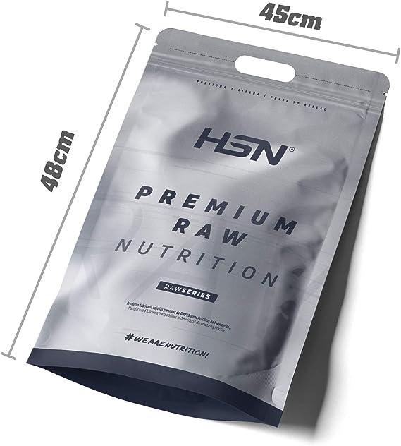 Proteína Aislada de Suero HSN   100% Whey Protein Isolate   Proteína Sin Sabor en Polvo   Suplemento para Ganar Masa Muscular   Rica en BCAAs y ...