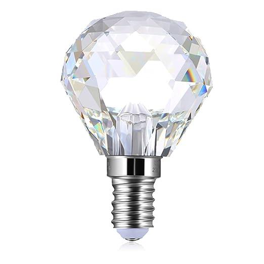 PureLume LED Light Bulbs for Chandelier Crystal Globe Light Bulb (3 ...