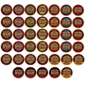 40-count EKOCUPS Organic & Fair Trade Gourmet Coffee Single Serve Cups for Keurig K Cup Brewer Variety Pack Sampler