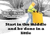 BigBlade Lightweight Easy to Use Snow Removal and