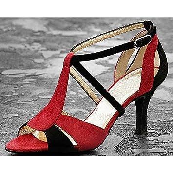 Satin Talon Noir Aiguille Danse De Chaussures En t Femmes Pour Q T 8nqw0xRPvP