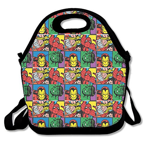 SuperWW Super Heroes Lunch Bag Tote Handbag