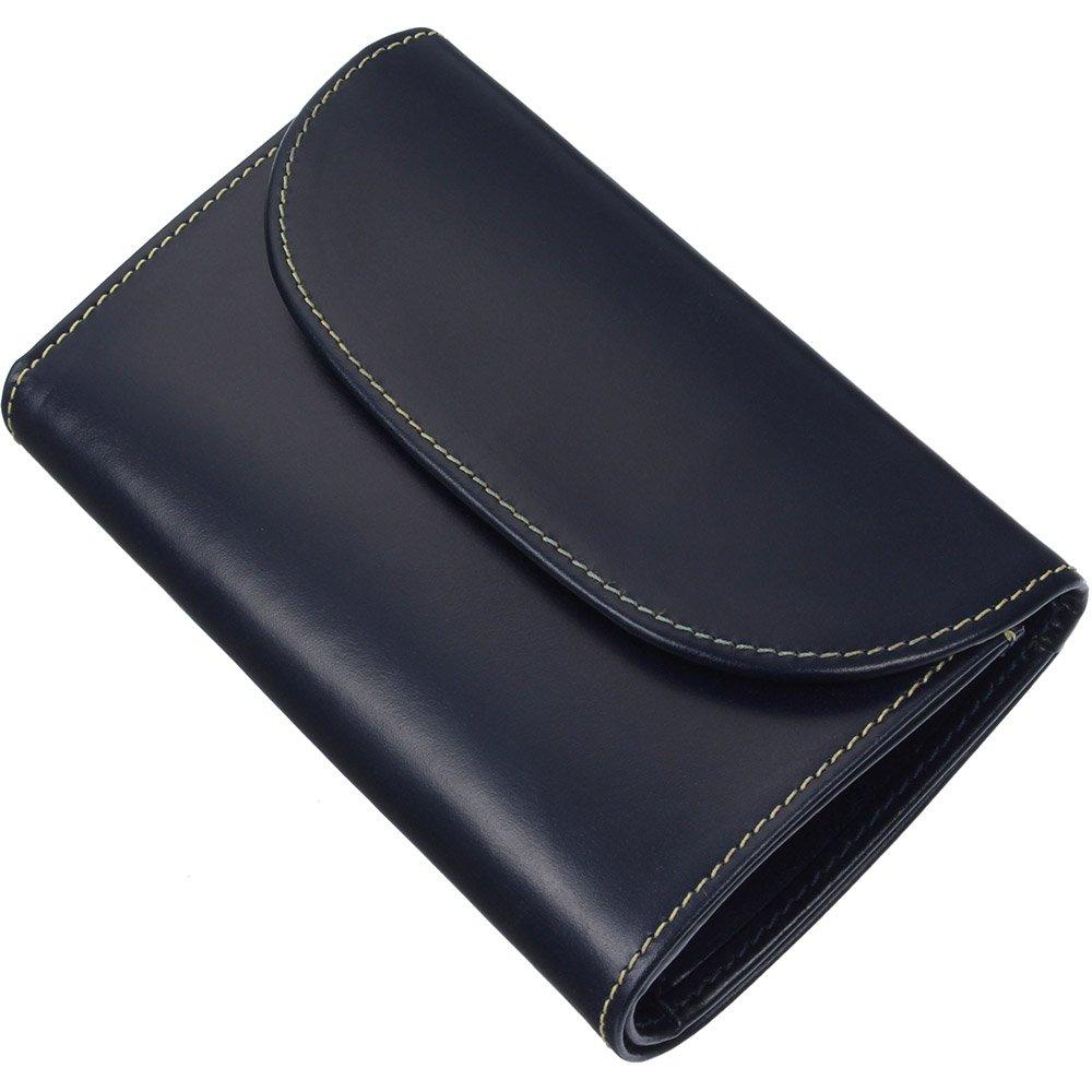 ホワイトハウスコックス(Whitehouse Cox) S7660 三つ折り財布 【正規販売店】 B013B97400ネイビー