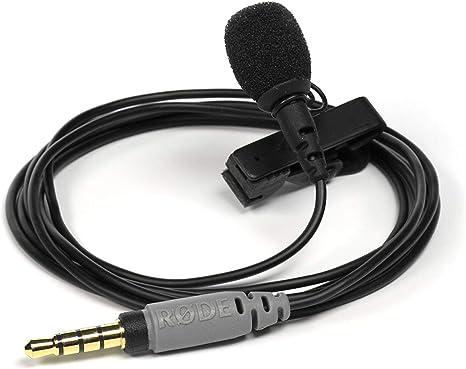 Omnidirectional Lavalier Microphone For Smartphones