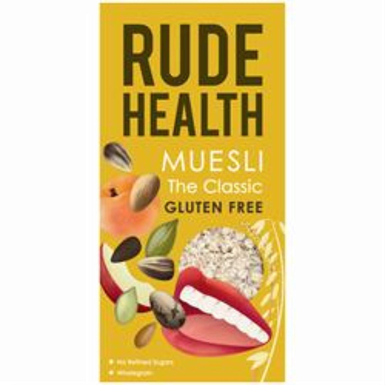 Amazon.com: Rude Salud El clásico sin Gluten Muesli 500 g ...