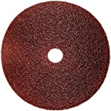 3M Fibre Disc 381C, Aluminum Oxide, 5'' Diameter, 24 Grit (Pack of 25)