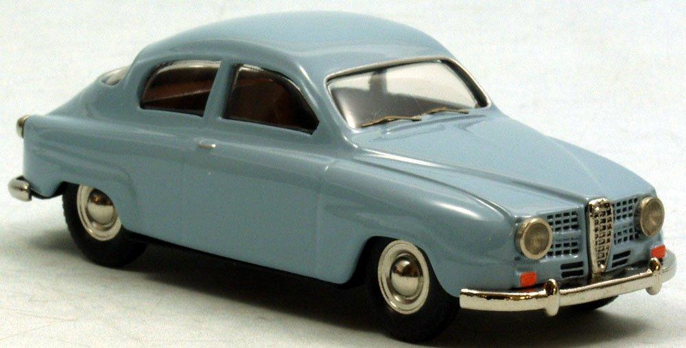 Unbekannt MOA (Tin Wizard) Saab 96 (1964) (replica made for Danhausen Modelcars) Fertigmodell - ready made grün/Grün