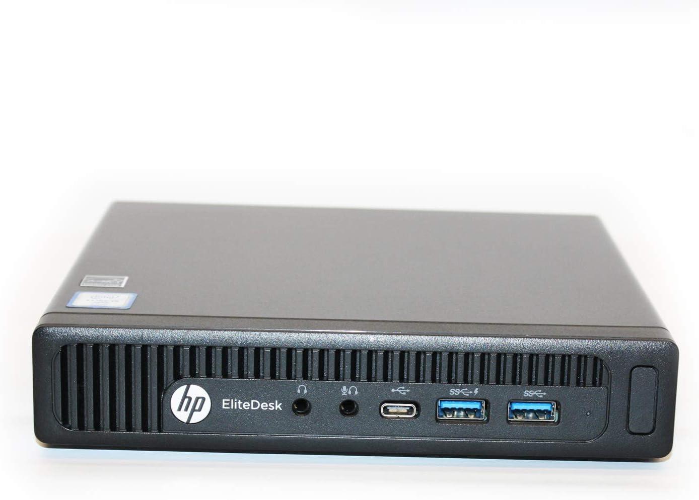 HP EliteDesk 800 G2 Desktop Mini Business PC, Intel Quad-Core i5-6500T up to 3.1GHz 16GB DDR4 480GB SSD Win 10 Pro 64-bit (Renewed)