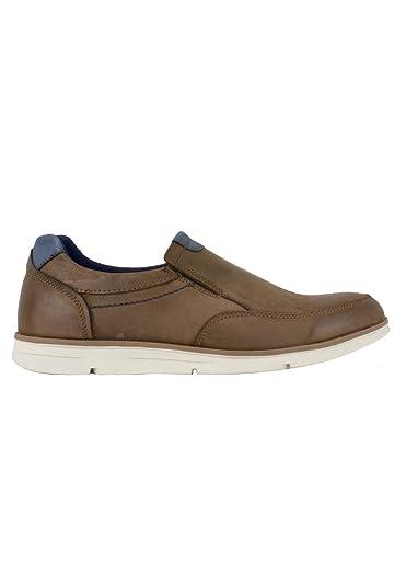 ed6c37ccf97 Vicmart - Zapato sin Cordones Sport Cuero Combinado - Cuero