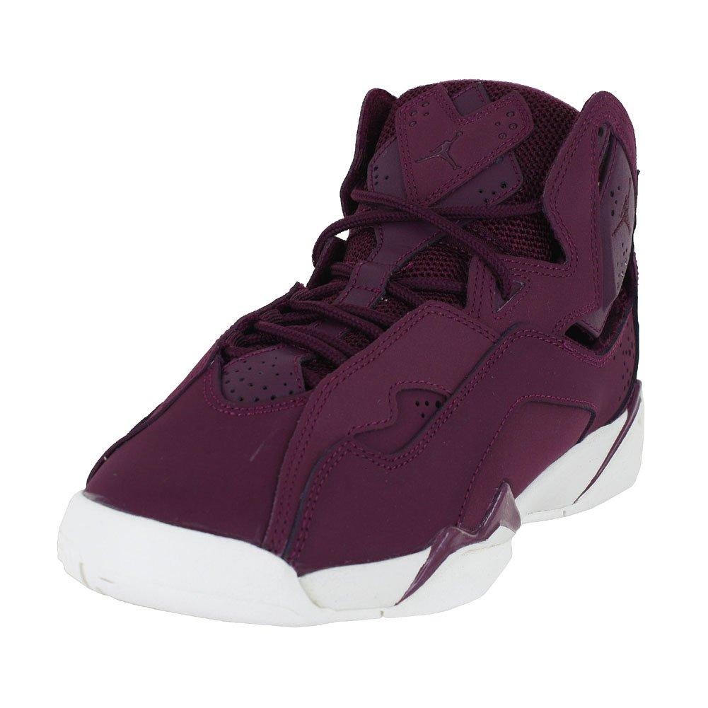 Jordan True Flight BG Big Kids Shoes Bordeaux/Bordeaux Sail 343795-625 (5.5 M US)