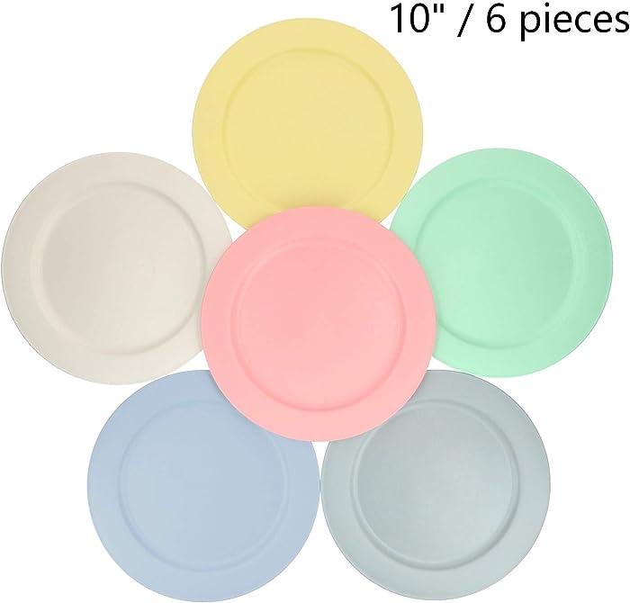 The Best Dishwasher Safe Bamboo Plates