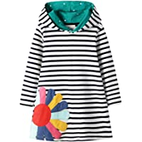 TOKYMOON Sudadera para niña de manga larga de algodón, camiseta de manga larga, otoño, invierno, ocio, sudadera con…