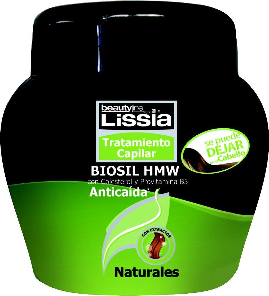 Amazon.com : Lissia Biosil Tratamiento, comida para el cabello. Tratamiento capilar anticaída con colesterol y provitamina B5, se diseñó para hidratar y ...