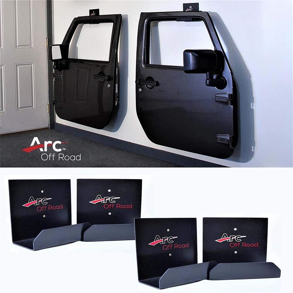 The Original, Arc Off Road, Window Channel, Jeep Door Hanger Bracket, 2 Door (2 hangers) For CJ, YJ, TJ, JK, JKU And The All New JL