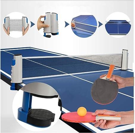Red De Tenis De Mesa Profesional Portátil Retráctil Red De Mesa De Ping Pong con Abrazaderas De Soporte Mesa De Ping Pong/Escritorio De Oficina/Cocina Casera: Amazon.es: Hogar
