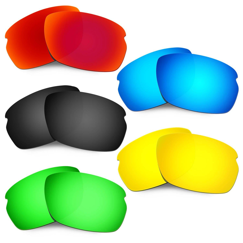 Hkuco 強化する交換用レンズ Oakley Carbon Shift 赤/ブルー/ブラック/24 Kゴールド/グリーン サングラス   B07RSKYFVC