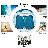 LETSQK Men's Sexy Swimwear Shorts Surf Swimsuit