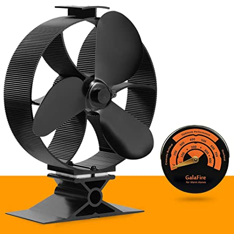 Amazon.com: 2017 New Heat ventilador para estufa a leñ ...