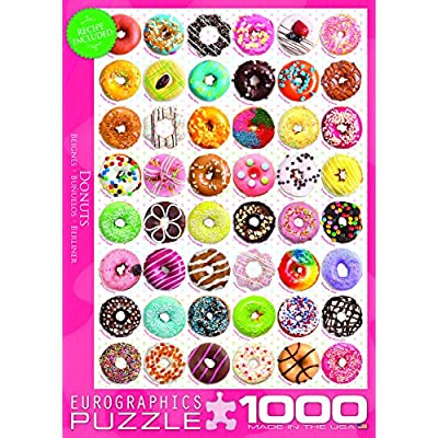 EuroGraphics Donuts Jigsaw Puzzle (1000-Piece) (6000-0585): Toys & Games