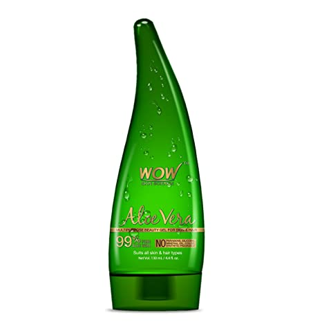df83f94529d72d Buy WOW Aloe Vera Multipurpose Beauty Gel for Skin and Hair
