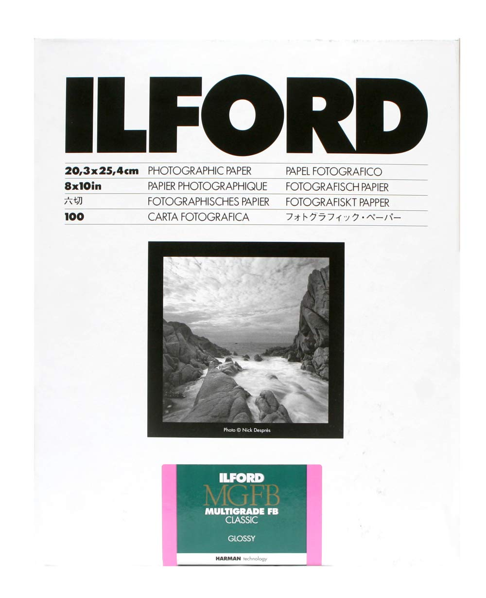 Ilford Multigrade FB Classic Gloss Variable Contrast Paper (5 x 7'', 100 Sheets) by Ilford