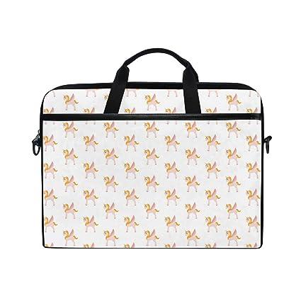 Amazon.com: Cute Flying Unicorn Orange Laptop
